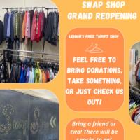 LU Swap Shop Grand Reopening
