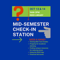 Mid-Semester Check-In Station