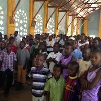 Mass in Ngudu, Tanzania (photo by J. J. Carney)
