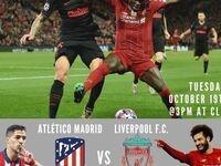 Champions League at CLIC: Atletico Madrid vs Liverpool