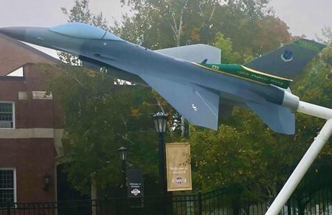 F-16 Static Display Dedication