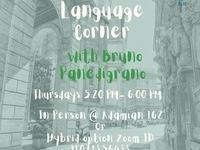 Italian Language Corner at CLIC