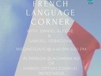 French Language Corner at CLIC