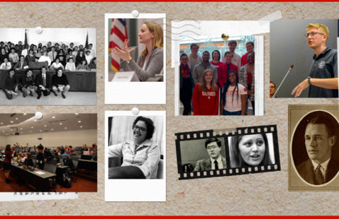 Student Government Red and White Week Celebration