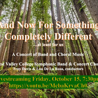 WVC Music Livestream Concert | And Now For Something Completely Different