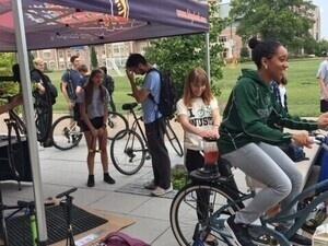 Bike tune-up smoothie bike
