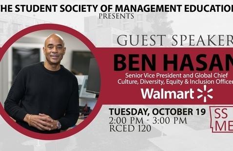 Guest Speaker: Ben Hasan