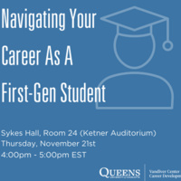 Navigating Your Career As A First-Gen Student