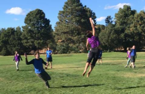 Intramurals! Ultimate Frisbee: Olympians vs. Geometers