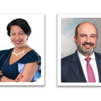 NOVANT HEALTH, Dr. Pamela Oliver, Executive Vice President and President of  Novant Health Physician Network and BANK of AMERICA, Omid Ahdieh,Managing Director of  Global Healthcare and Investment Banking