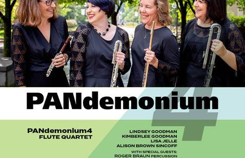 Pandemonium - flute quartet photo