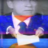 """Deepfake video footage of President Nixon in the Emmy award-winning """"In Event of Moon Disaster"""""""