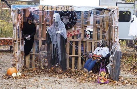 Scary campsite