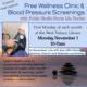 Wellness Clinic & Blood Pressure Screening