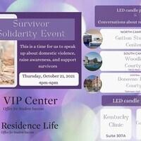 Survivor Solidarity Event