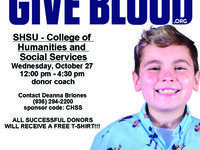 CHSS Blood Drive with Gulf Coast Regional Blood Center