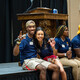 Members of the 2021 Orientation Team at New Student Orientation.