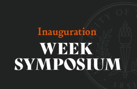 The Master Teacher  (Inauguration Week symposium)