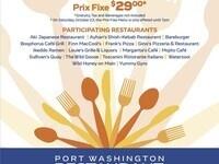Restaurant Week - Port Washington