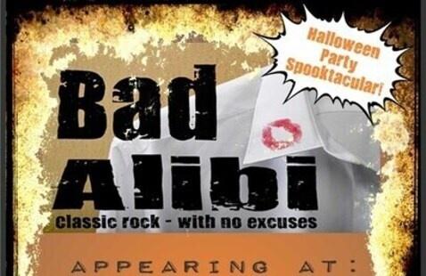 Bad Alibi rocks Garrett's Halloween Beer-Fest!