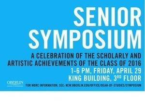 Senior Symposium 2016