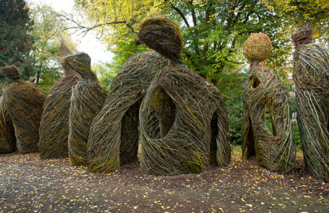 Experience site-specific sculpture by Patrick Dougherty at artist talk at the SCAD Museum of Art