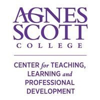 logo of text that reads: Agnes Scott College, Center Teaching, Learning and Professional Development