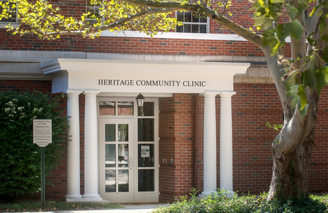 COVID Vaccination Clinic at Heritage Community Clinic