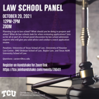 TCU Law School Admissions and Mock Application Review