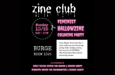 Feminist Hallowzine Coloring Party