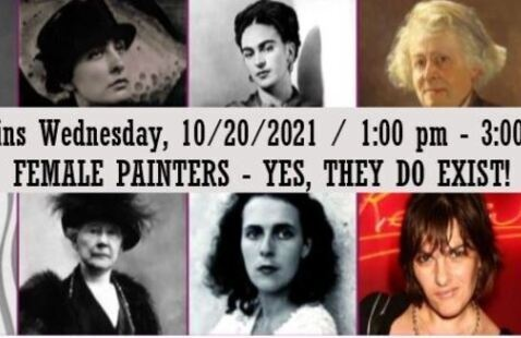 OLLI: Female Painters - Yes, They Do Exist!
