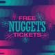 Buffs After Dark: Denver Nuggets Tickets
