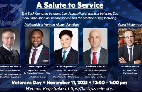 A Salute to Service - Veterans Day Panel