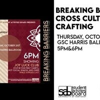 Cross Cultural Crafting / Breaking Barriers #1