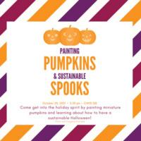 Painting Pumpkins & Sustainable Spooks