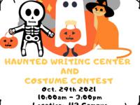 Costume Contest & Haunted Writing Center at the S&T Writing Center