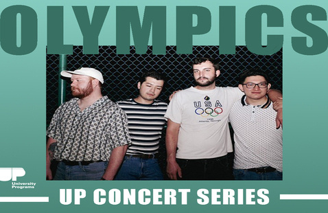 Join UP in the Connections Lounge to enjoy music from Olympics!