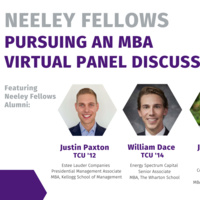 Neeley Fellows presents Pursuing an MBA Virtual Panel Discussion