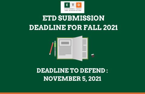 ETD: Deadline to Defend