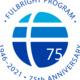 Fulbright Logo 75th anniversary