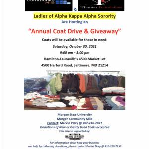 Annual Coat Drive & Away