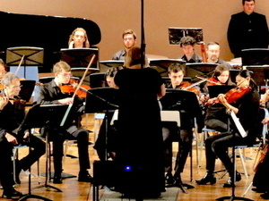 Pitt's Symphony Orchestra Plays Nepomuceno, Perry, and Debussy