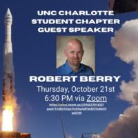 Guest Speaker Event: Robert Berry from NASA