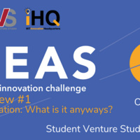 IDEAS Chat & Chew #1: Social Innovation: What is it anyways?