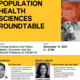 PHS November Roundtable Flyer