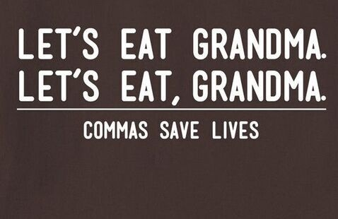 Grammar Workshop: When & How to Use Commas