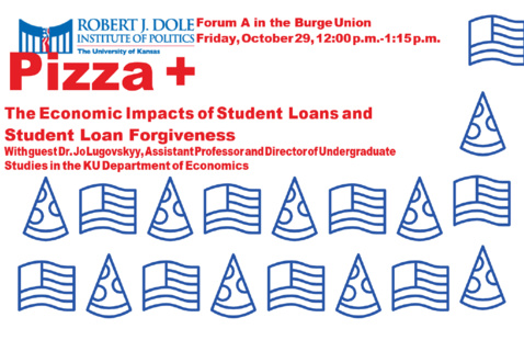 Pizza and Politics Event Poster