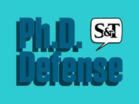 Final Ph.D. Defense for Dripta Bhattacharjee, Physics