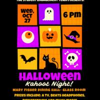 Halloween Kahoot Night