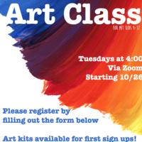 MIT Kids Art Class